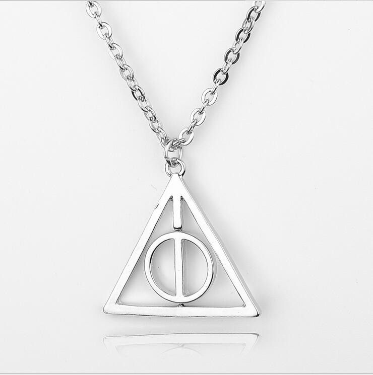 Harry Potter Deathly Hallows Pendant Necklace Among The Resurrection