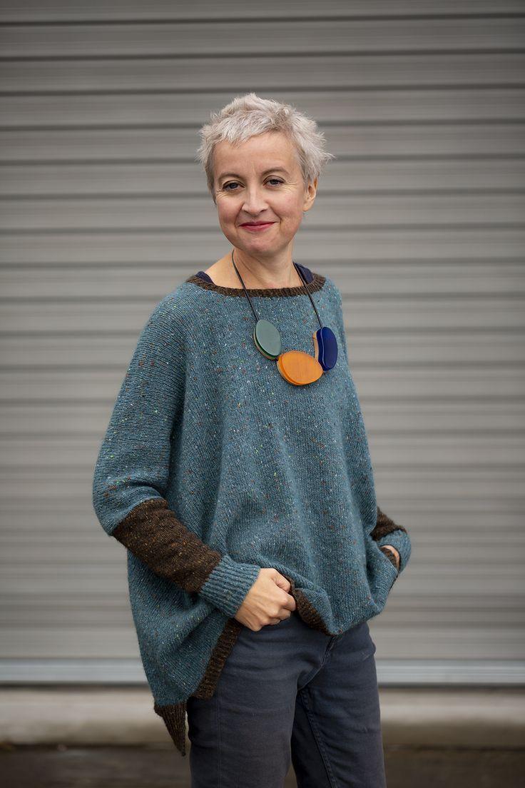 Photo of zweifarbiger Strathendrick – Kate Davies Designs  #davies #designs #knittingmode…