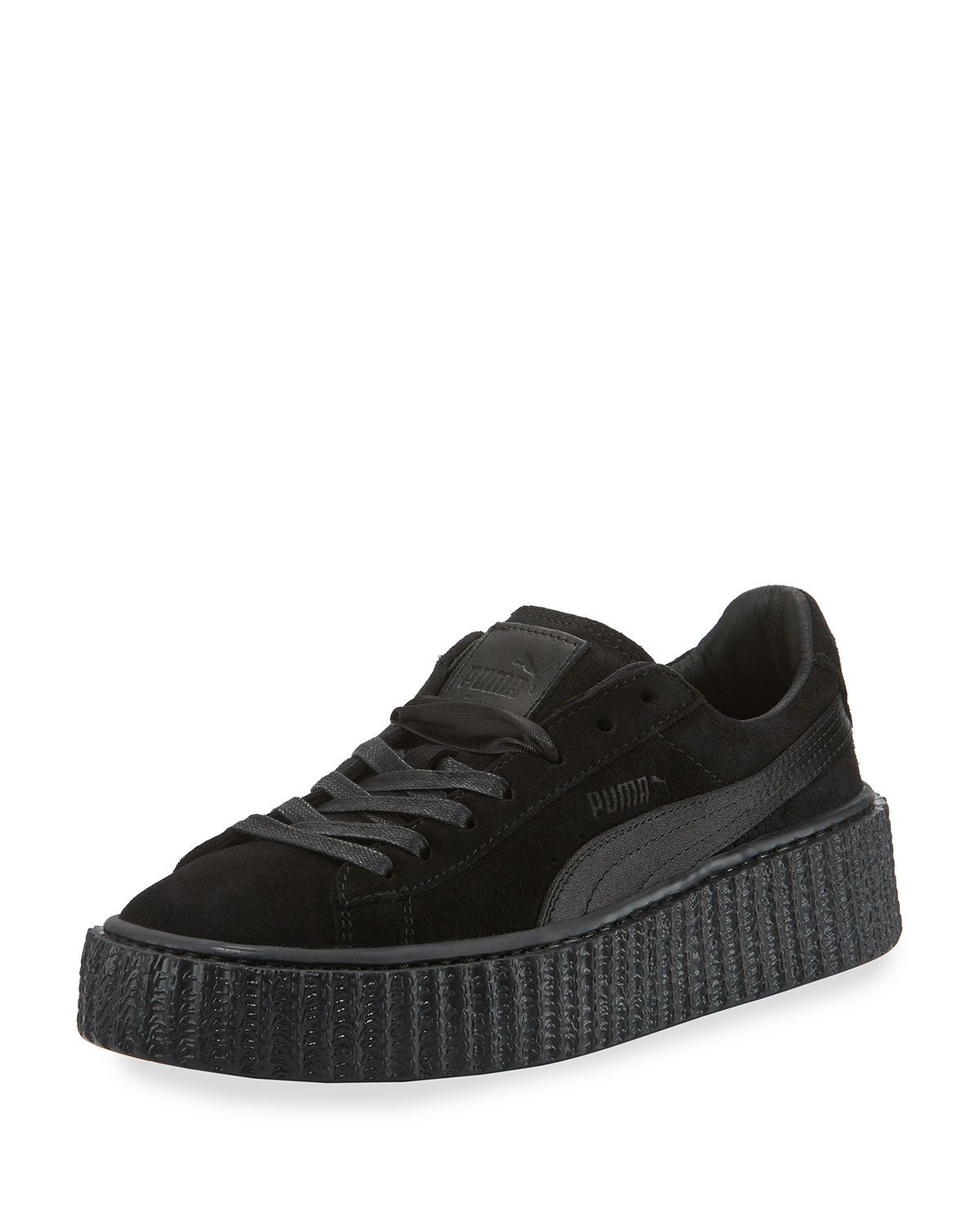 the best attitude b0e23 97046 Satin-Trim Suede Creeper Black | *Vehicle Maintenance, Care ...