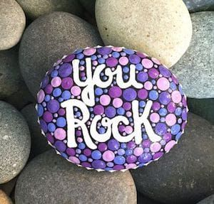 Painted Rocks // How to Paint & 127+ AMAZING Rock Painting Ideas