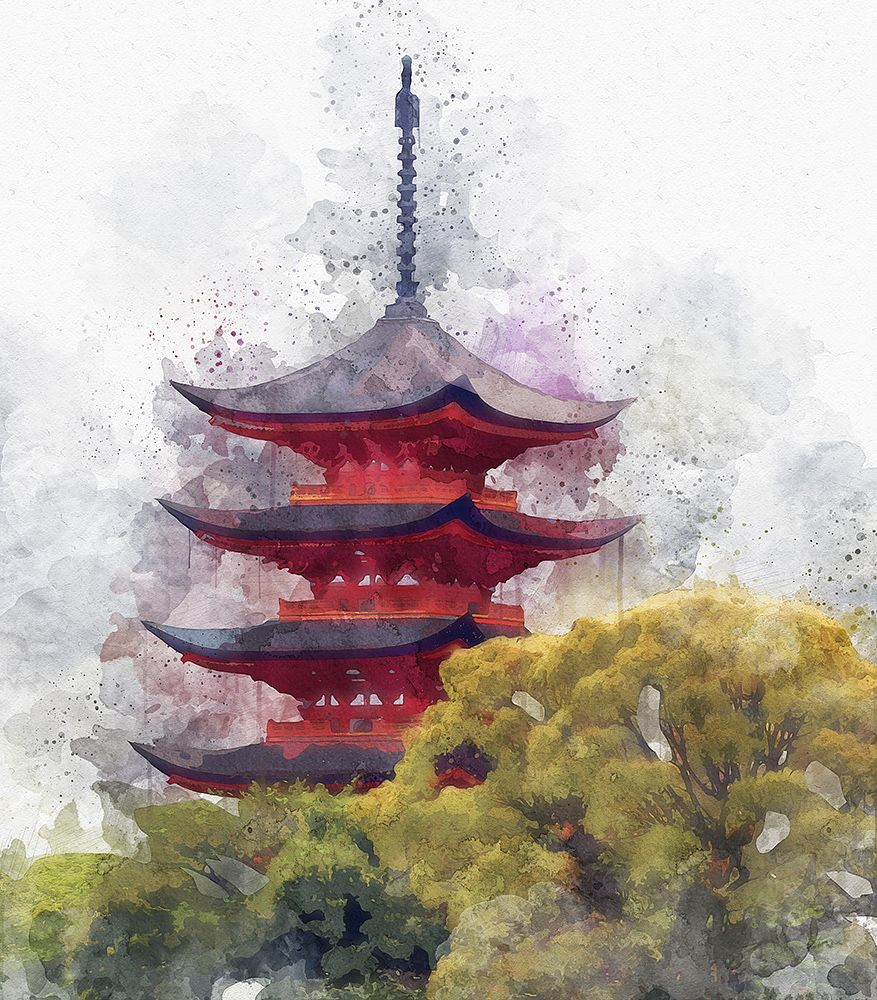 Asian Watercolor Photoshop Action In 2020 Watercolor Photoshop