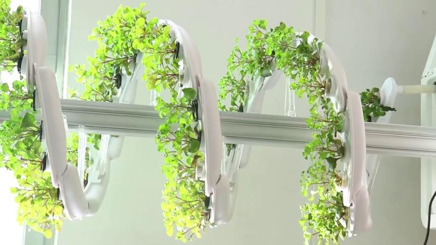 Vertical Spiral Plant Grow Hydroponic Tower Indoor beBee