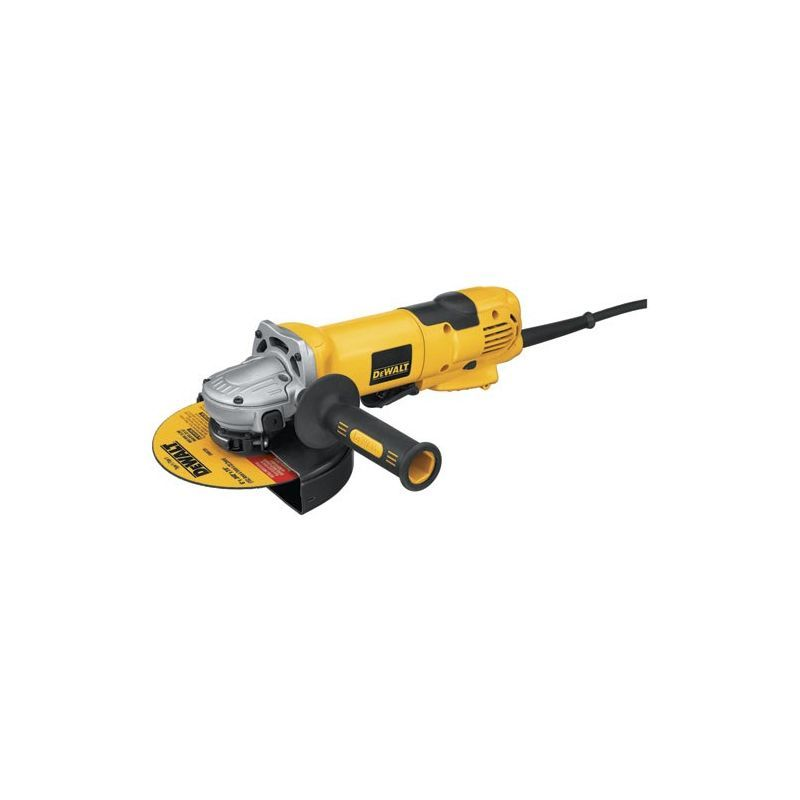 "Dewalt D28144 6"" High Performance Cut-Off Grinder with 13 Amp Motor and 9000 RP Power Tools Grinders Large Angle"