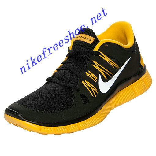 Nike Free 5.0 Mens Laf Black Varsity Maize 579745 002