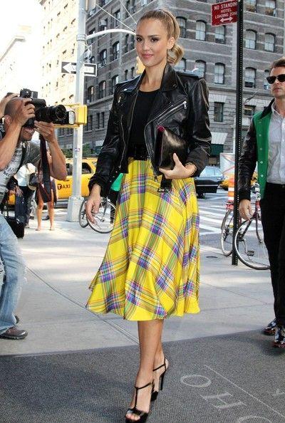 Jessica Alba at Fashion Week