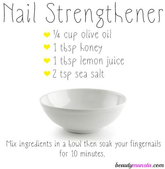 DIY Nail Strengthener for Strong, Healthy & Shiny Nails | Beauty ...