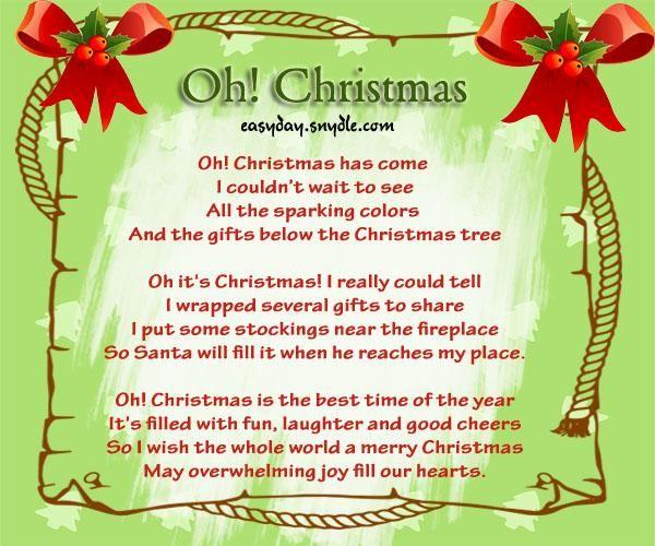 christmas greeting poems