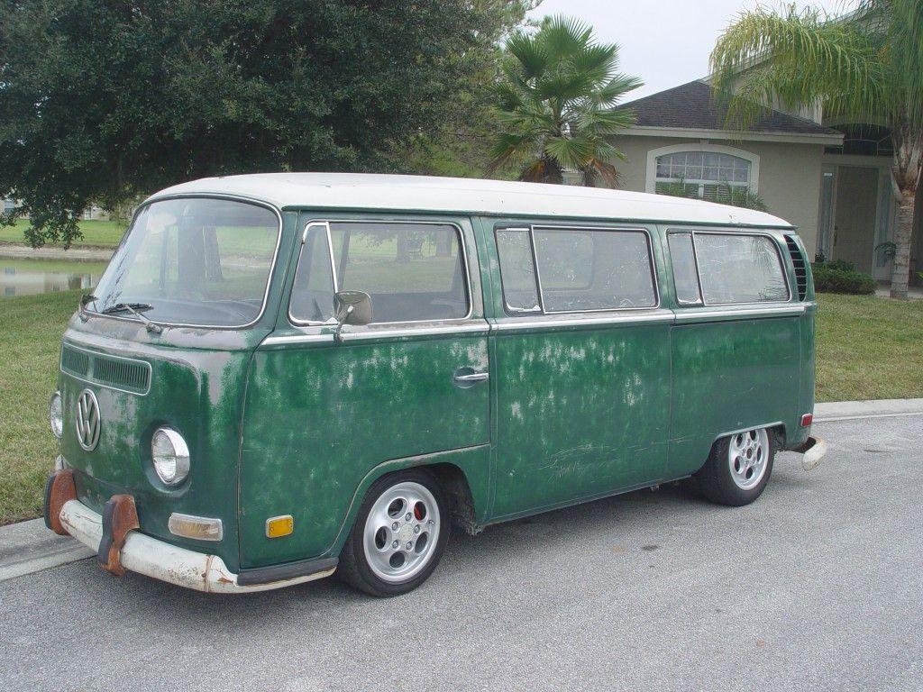 1970 slammed patina monster deluxe rust free 9 passenger bus for sale