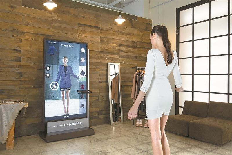 Ar Fitting Room Features Retail Technology Bridal Dressing Room Fashion Marketing