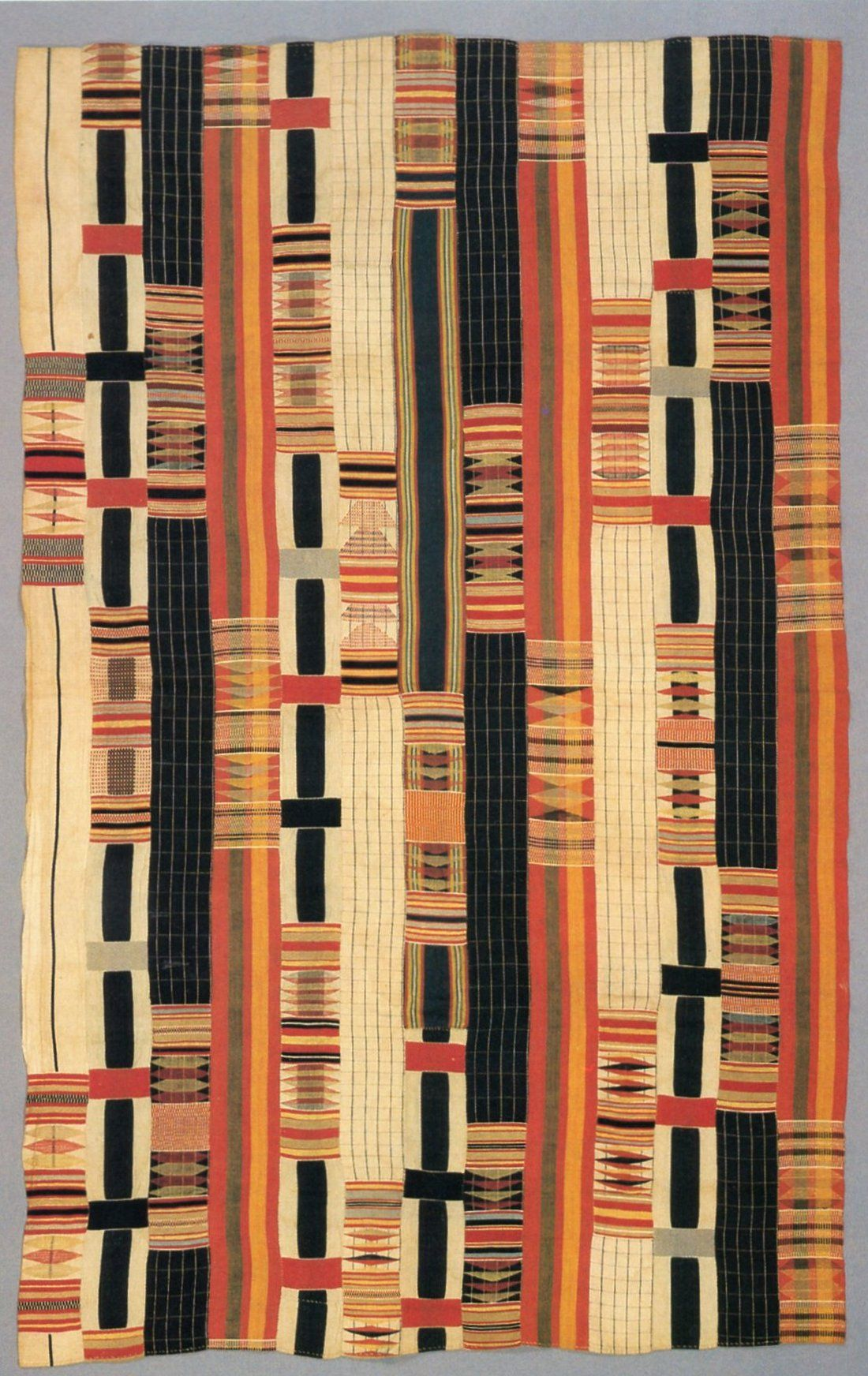 Nineteenth Century Kente From The Smithsonian Lamb Collection
