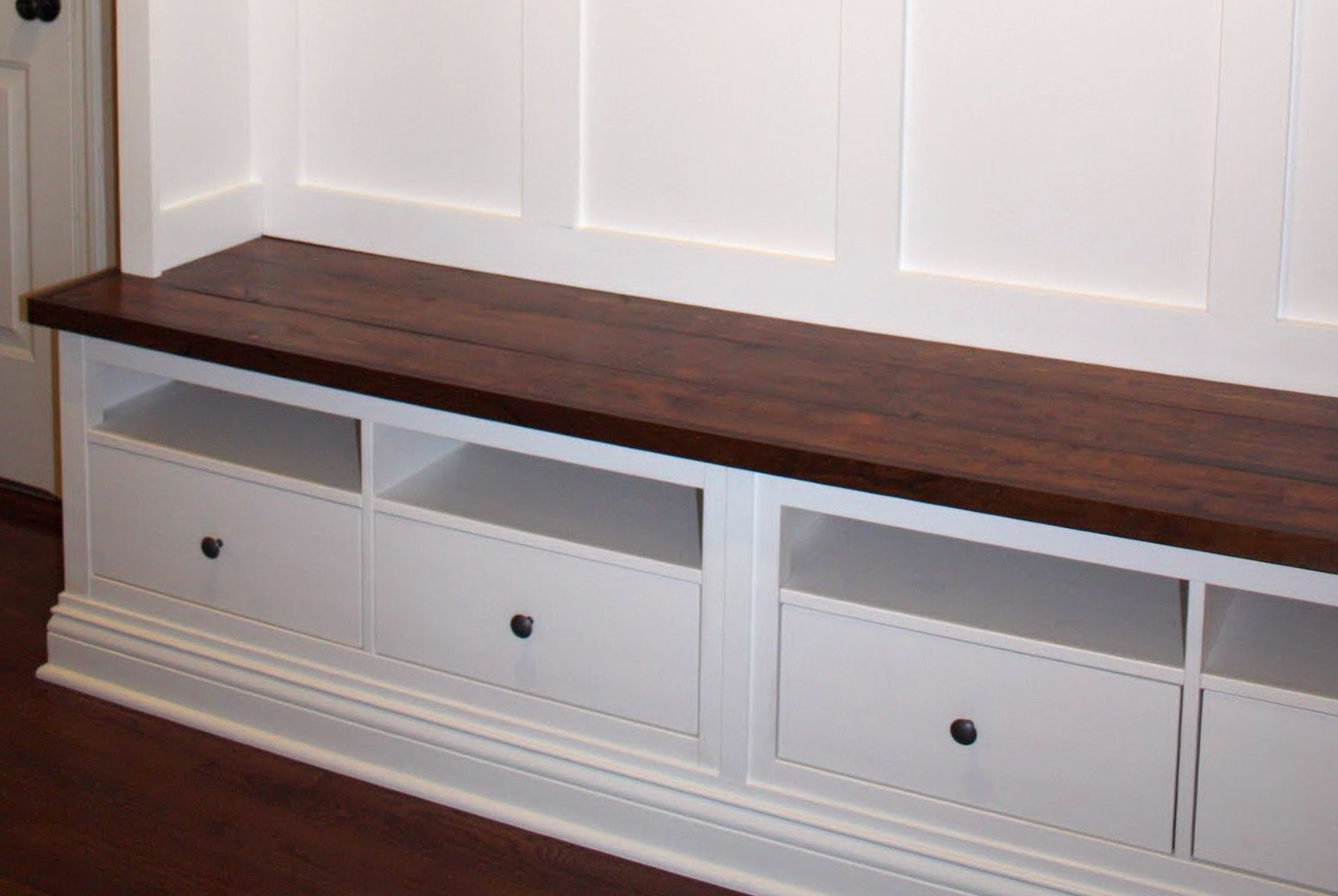 Entryway Bench Ikea Hack With Images