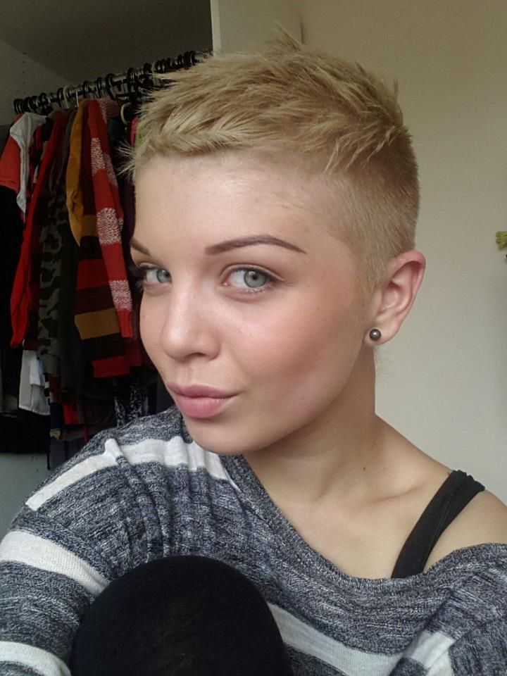 Super Cute Buzzed Short Hair Style My Next Cuts Short Hair