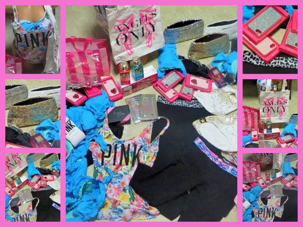Huge Wholesale Lot Victoria S Secret New Resell Items Love Pink