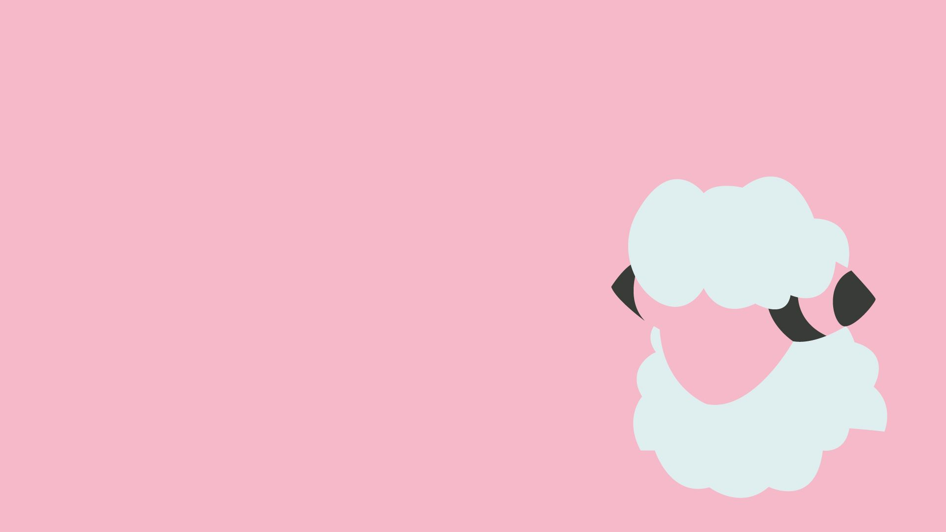 ash character flaaffy pokemon pink simple background wallpaper