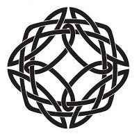 A few meaning possibilities for a Quarternary knot: The Four Directions, North South East West The four seasons, Winter, Spring, Summer, Fall The four Latin Gospels in the Book of Kells The four elements Earth Fire Water Air
