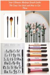 Photo of #Brushes #Guide #makeup #Types These Are the Only Types of Makeup Brushes You Ne…