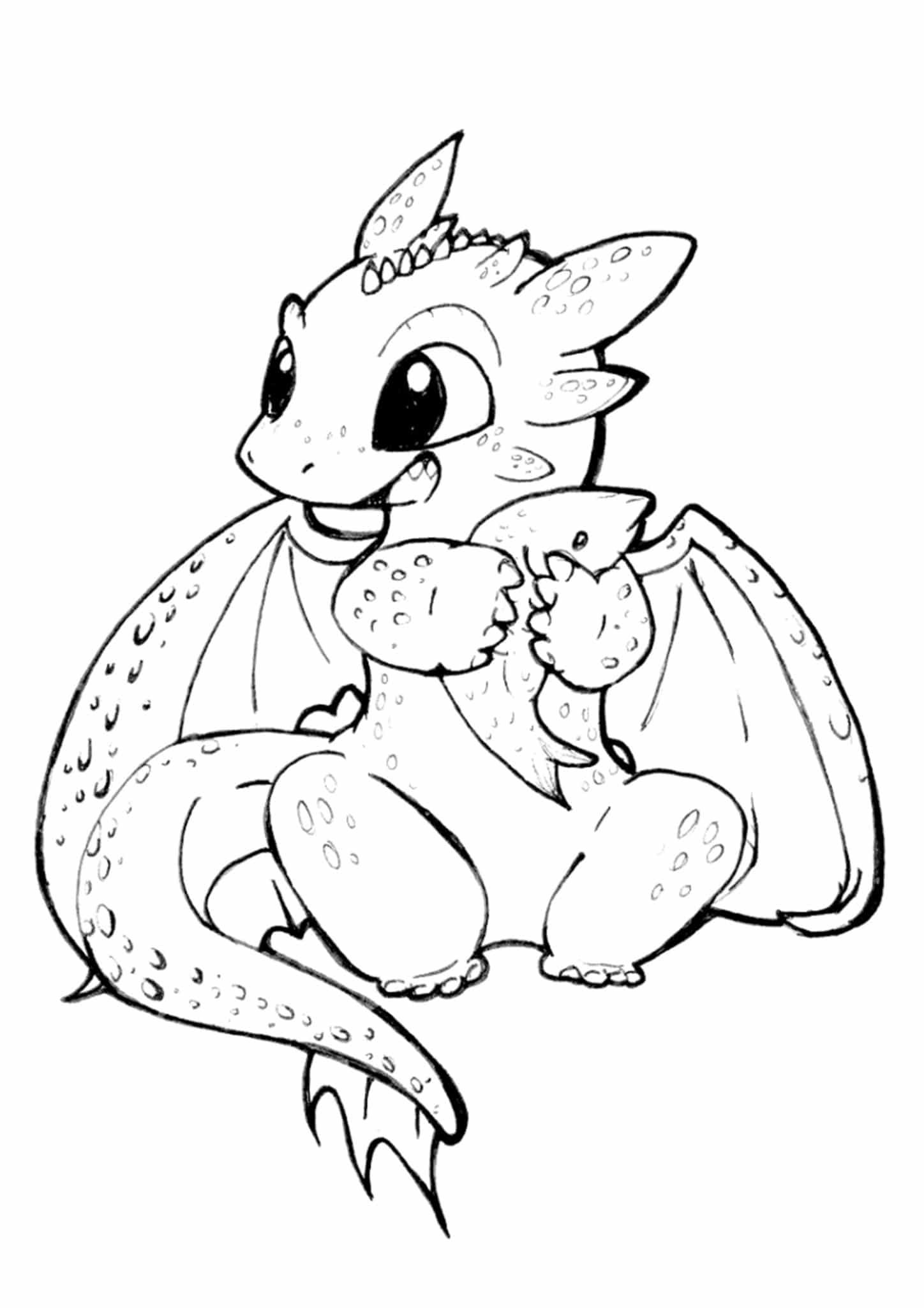 Free Easy To Print Dragon Coloring Pages In 2021 Dragon Coloring Page Cartoon Coloring Pages Cute Dragons