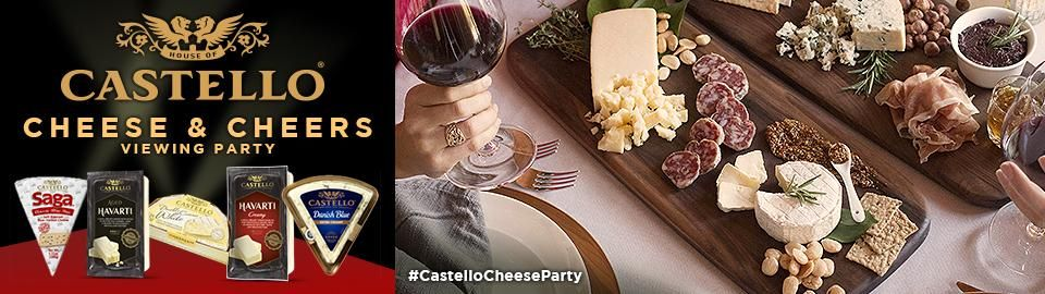 House Party > Castello® Cheese and Cheers Viewing Party