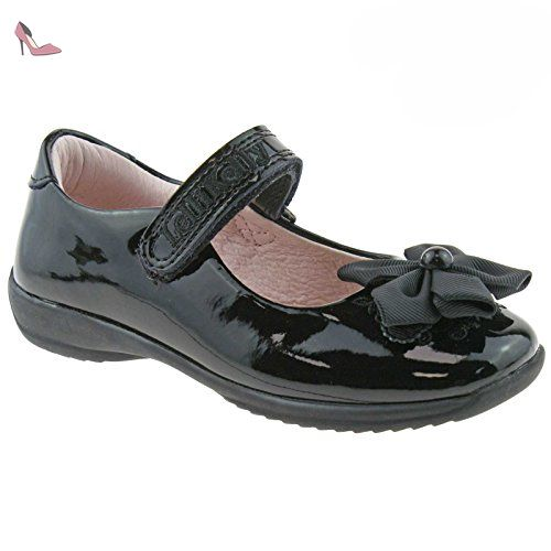 Lelli Kelly LK8250 (DB01) Chloe Black Patent T-Bar School Shoes F Width-EU 24 (UK 6.5) J1h5BGT