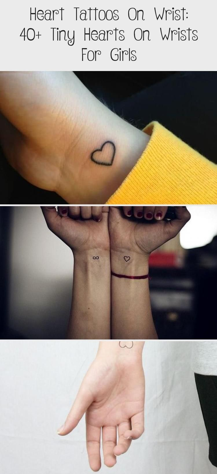 Heart tattoos on wrist 40 tiny hearts on wrists for