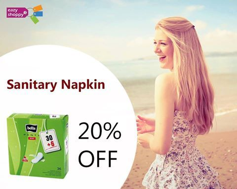 Buy #BELLA PANTY LINER MINI @EazyShoppy!!  Covered with soft and gentle non-woven material. It is made of permeable foil, so the skin can breathe.  Use Promo Coupon Code:EZTM100 to get Rs.100 Off..  Visit: http://www.eazyshoppy.com/