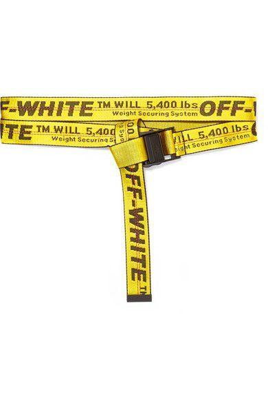 Off White Belts And Sandals For Sale In Decatur Ga In 2020 Mit Bildern Gurtel Gelb Bilderrahmen