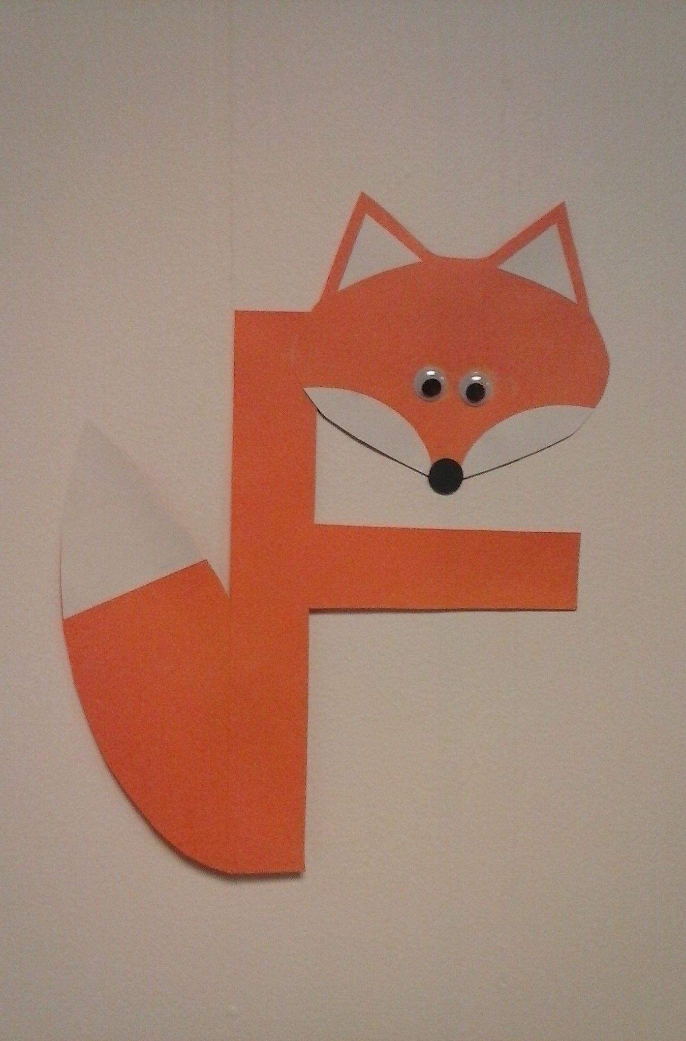 Preschool Letter F F Is For Fox