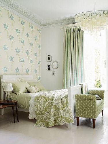 Bright Bedroom In 2020 Bedroom Green Home Decor Home Bedroom