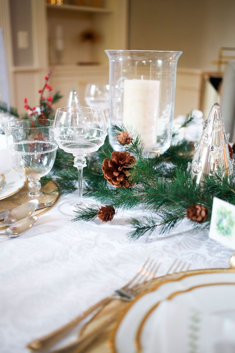Christmas Table Setting Ideas Uk.5 Beautiful Christmas Table Setting Ideas Xmas Table