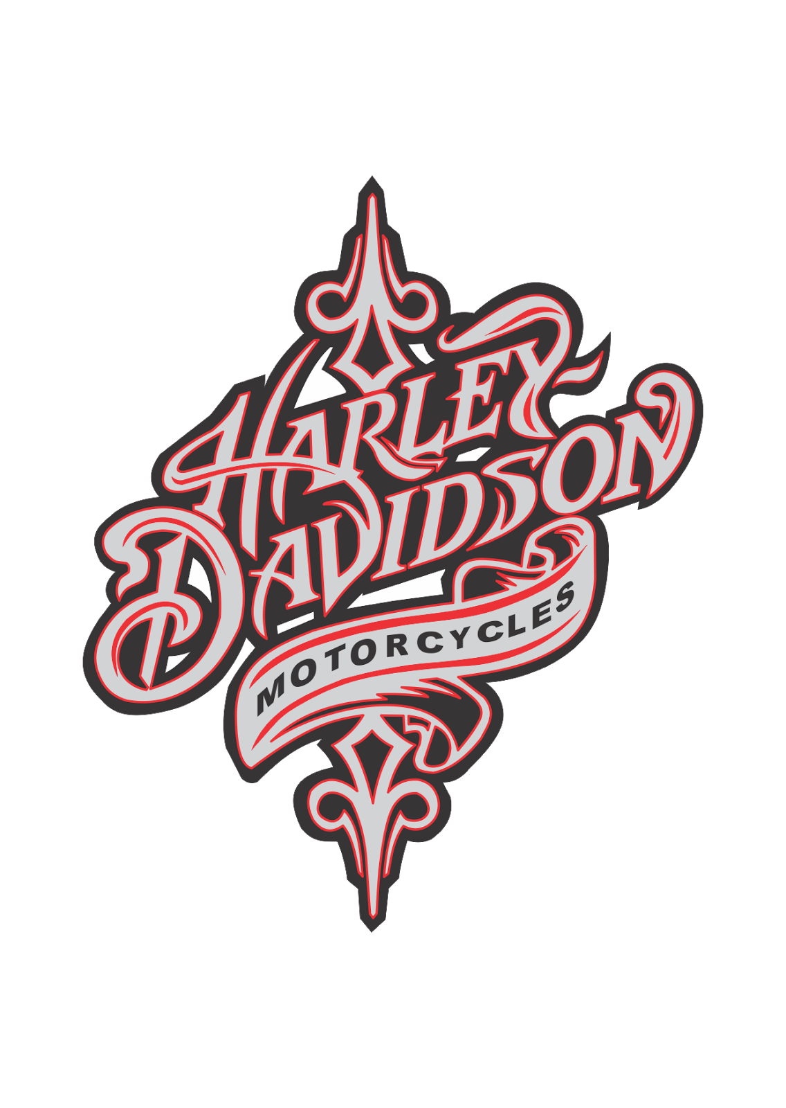 Harley davidson motorcycles Logo Vector Harley davidson