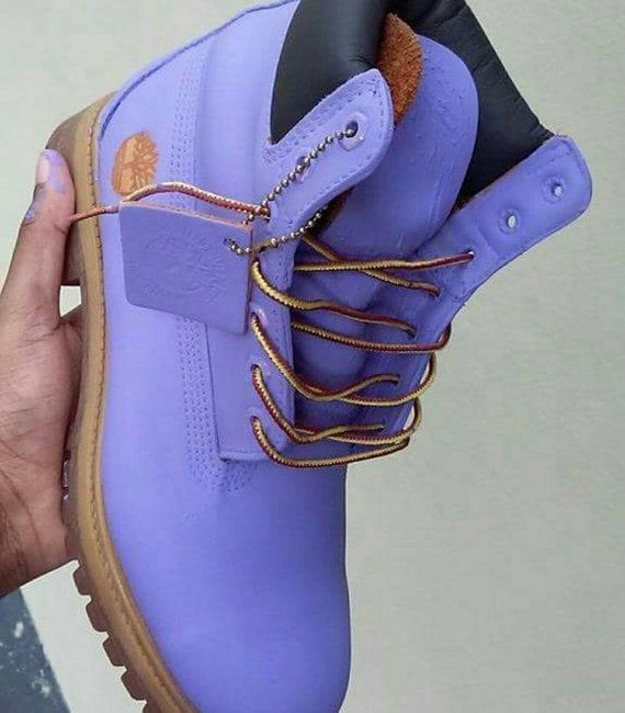 custom colored timberland boots size by