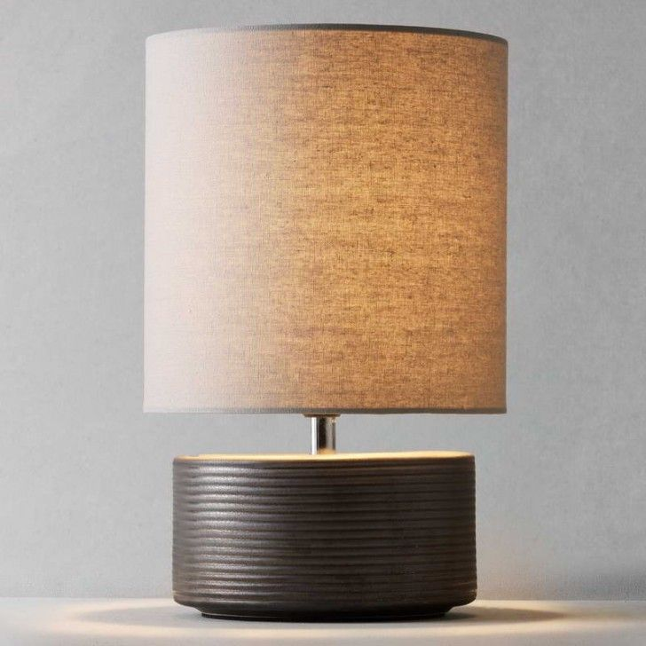 Furniture Photo Battery Operated Table Lamp 1 Lampshade Design Regarding