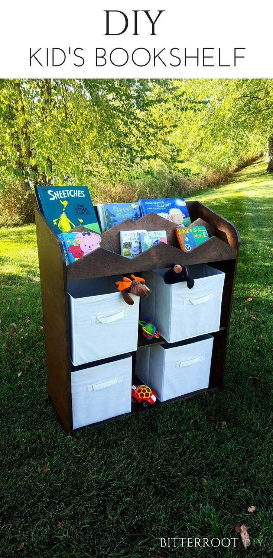 kids organization furniture. DIY Kid\u0027s Bookshelf | Toy Storage And Organization, Kids Rooms, Kid Furniture, Diy Organization Furniture
