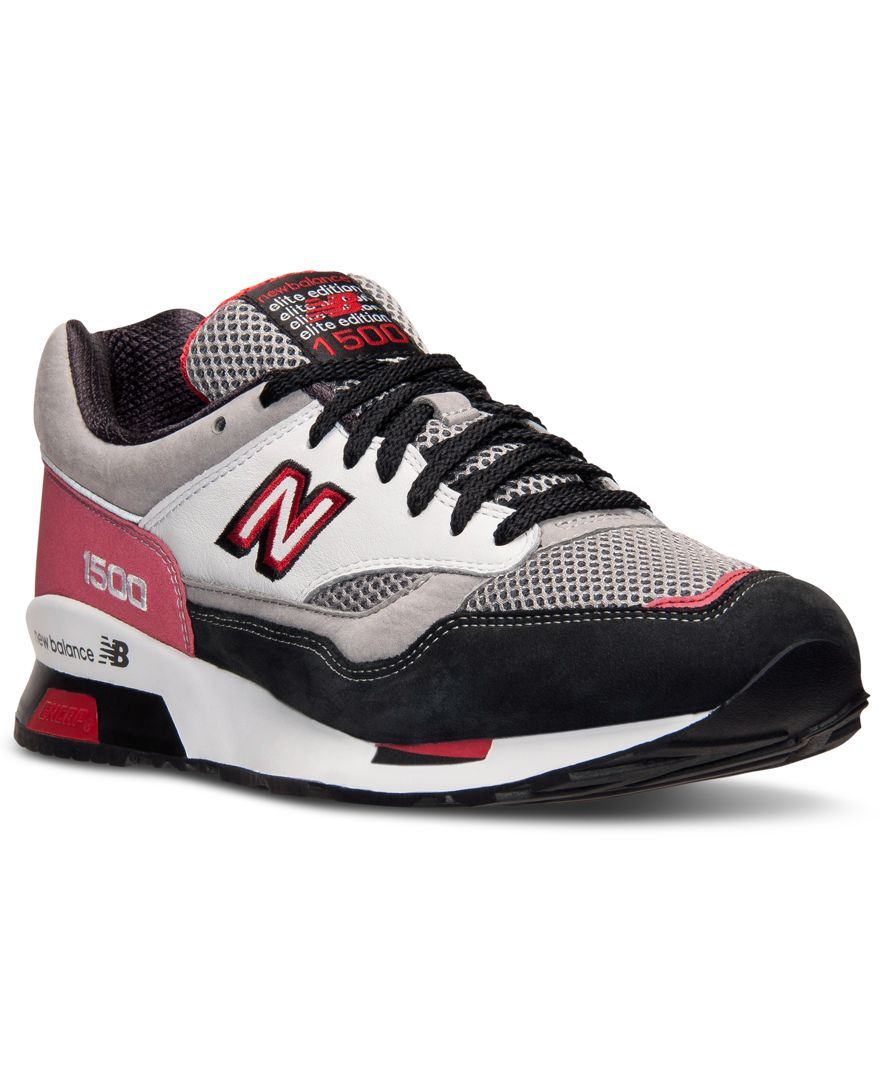 New balance mens 1500 riders club casual sneakers from