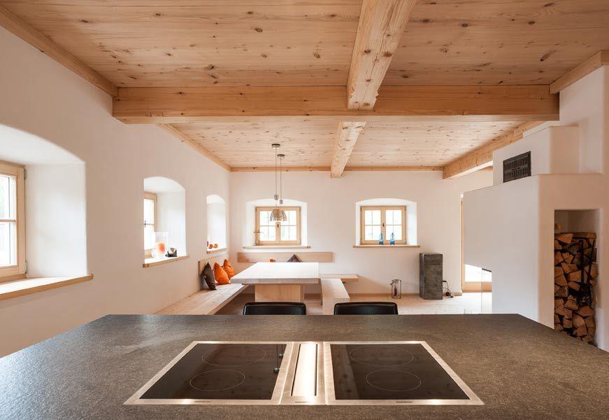 Modernes Bauernhaus in Altholzoptik  Einrichten und Wohnen  Bauernhaus wohnzimmer Modernes