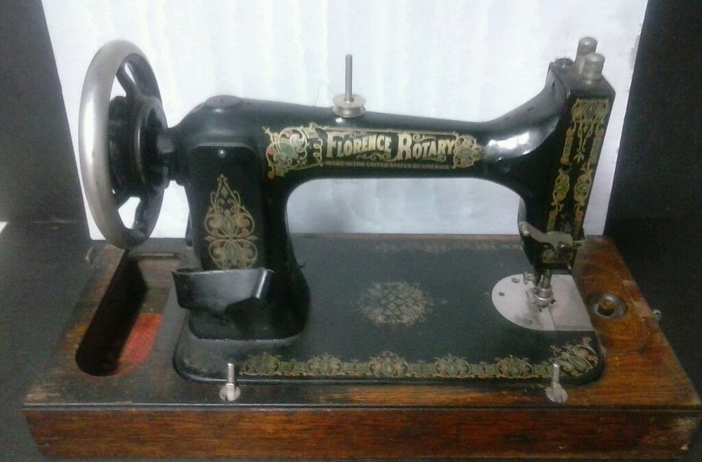 Antique Florence Rotary Sewing Machine Late 1800s Sewing