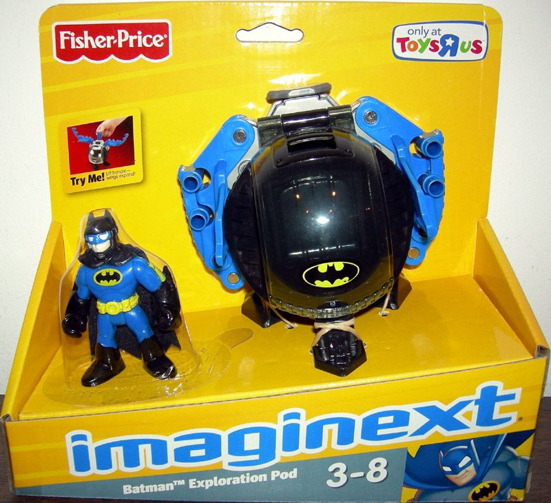 Batman Toys For Kids : Batman exploration pod imaginext toys r us exclusive