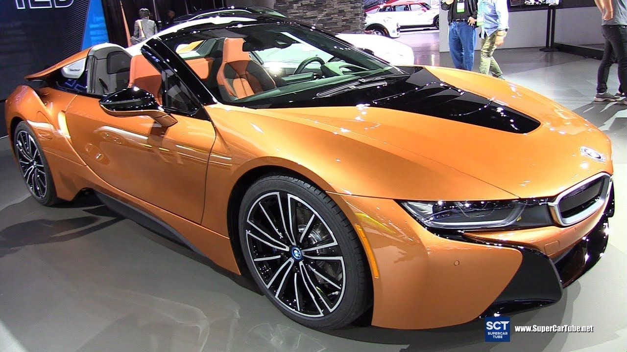 2018 BMW i8 Roadster Exterior and Interior Walkaround