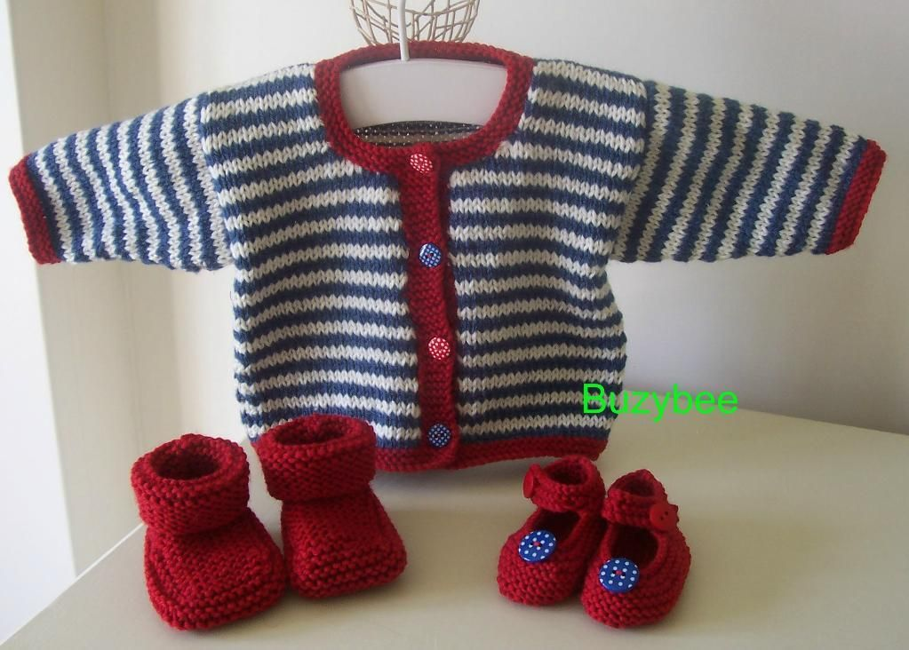 Knitting Pattern Striped Sweater : Modern Nautical-Inspired Knitting Patterns Knit baby ...