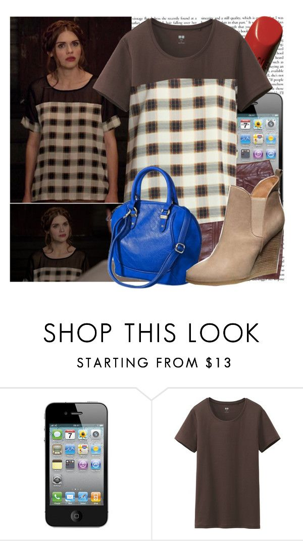 """""""Lydia Martin-Letharia vulpina"""" by elenadobrev90 ❤ liked on Polyvore featuring Chanel, Uniqlo, Episode and Like Mynded"""