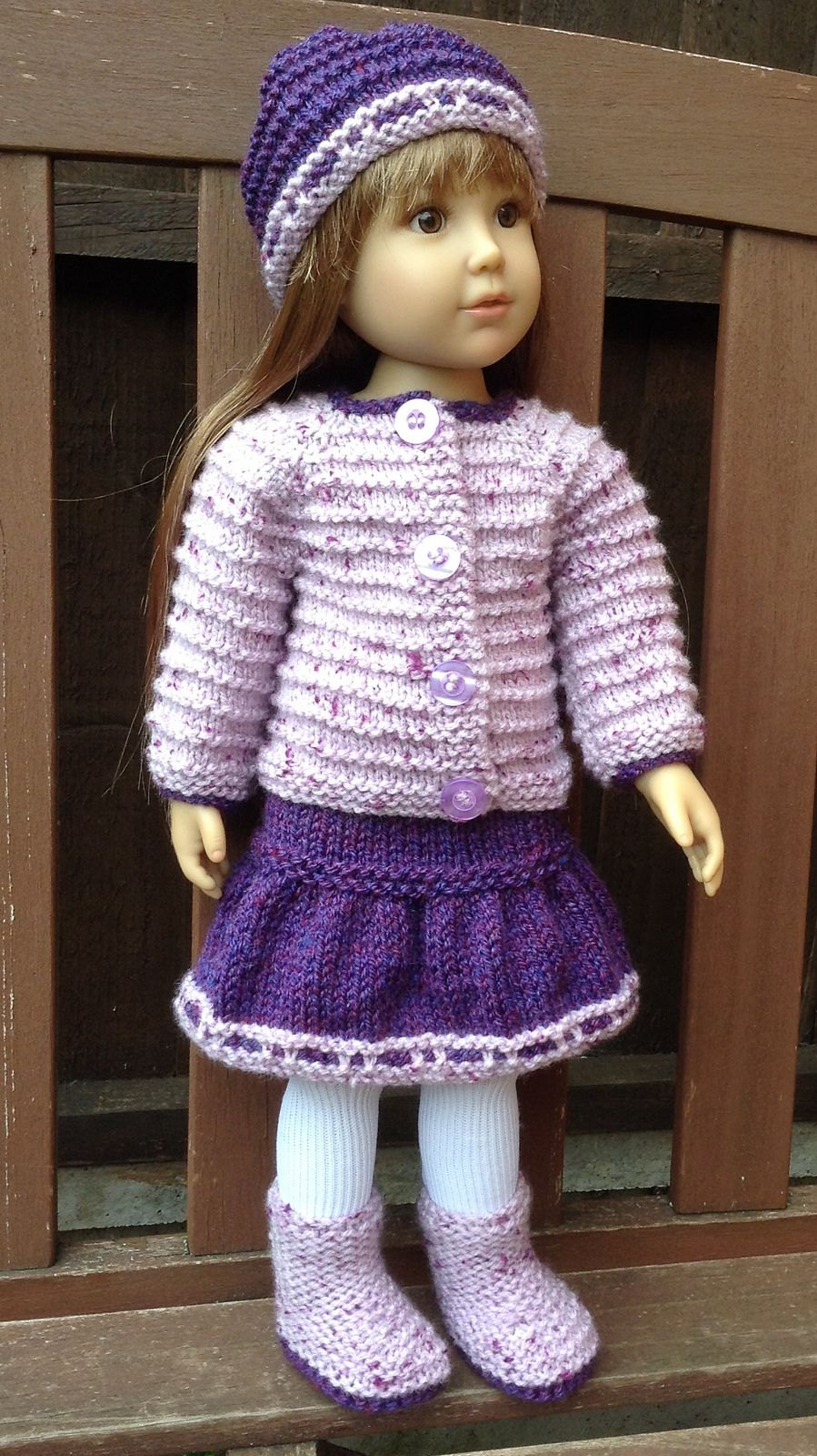 Ravelry: KC02 Top Down Cardi for Kidz n Cats Dolls by Jacqueline Gibb