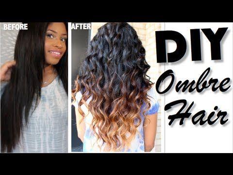 how to ombr hair diy hair pinterest faire soi meme coiffures et faire. Black Bedroom Furniture Sets. Home Design Ideas