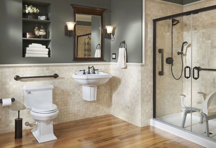 Universal Design Bathrooms Accessible Bathrooms For A Vineyard House  Universal Design Style