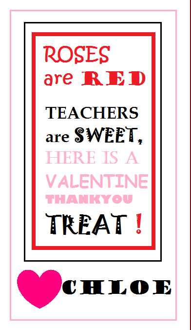 here is the valentine u0026 39 s day card i designed for chloe u0026 39 s daycare teachers  i am attaching to a