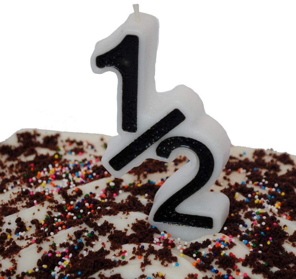 1 2 Birthday Candle