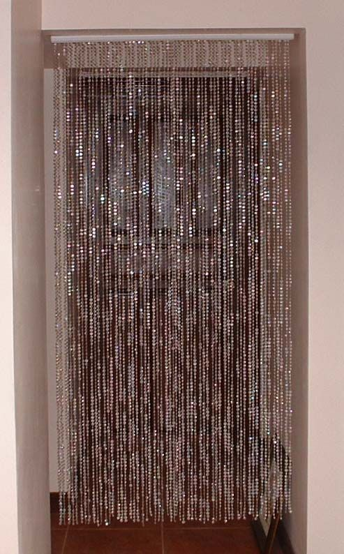 Bead Curtains Are Back Beaded Door Curtains Curtain Decor Beaded Curtains