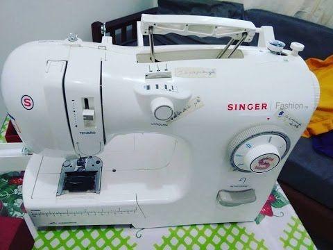 Preparando A Sua Maquina Singer Para A Costura Youtube Singer Fashion Sewing Sewing Machine