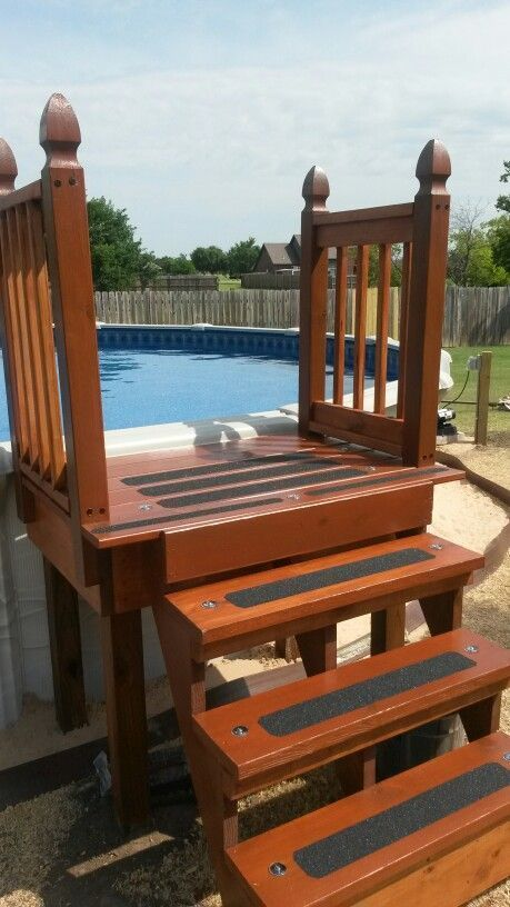 11 Most Popular Ground Pools with Decks Awesome Outdoor Diy