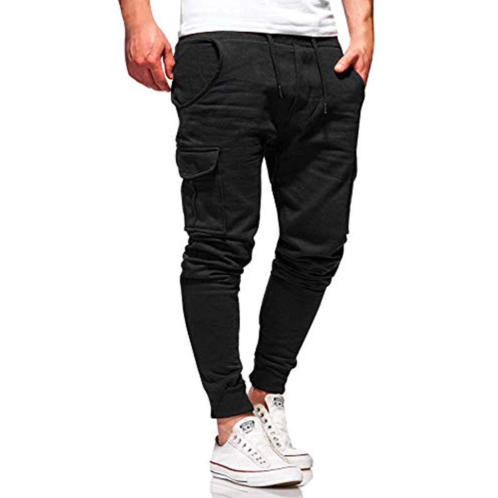 Cindeyar Herren Hose Jeanshose Stretch Jogger Sporthose