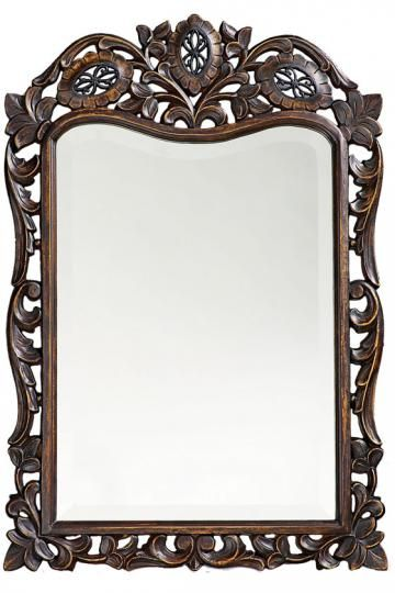St. Augustine Mirror - Wall Mirrors - Home Decor | HomeDecorators.com 29x20. $143.  Small